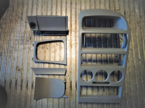 ASTRA MK4 GREY CENTRE CONSOLE SET, ALL 6 PARTS
